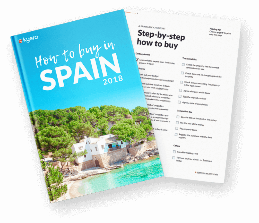 Picture of a How to buy in Spain guide