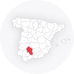 Map outline of  Cordoba Province