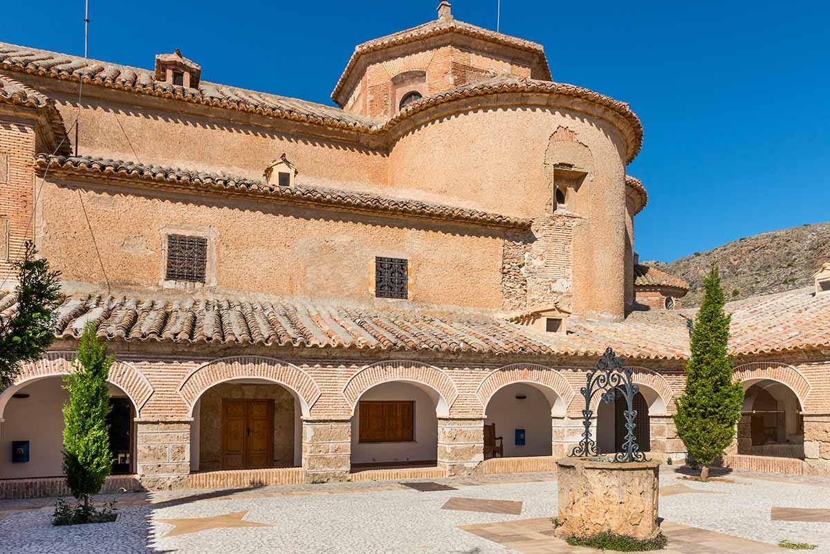 Monastery of the Virgin Del Saliente, near Albox